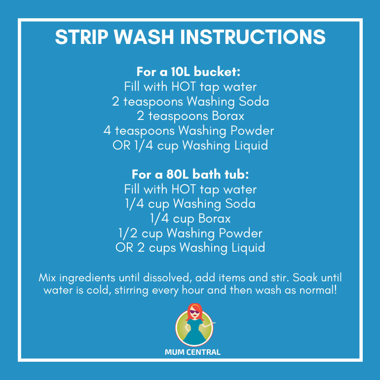 strip wash