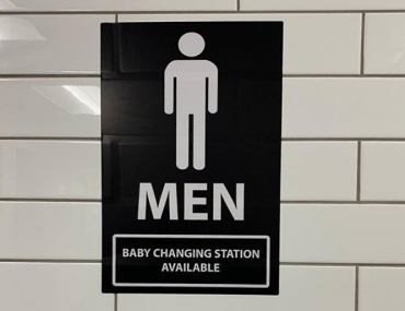 mens bathroom change tables