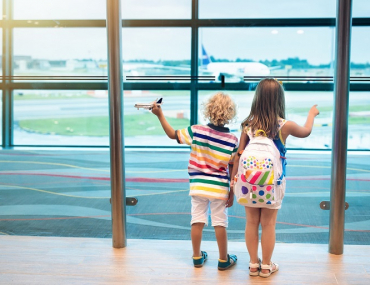 Airport kids travel