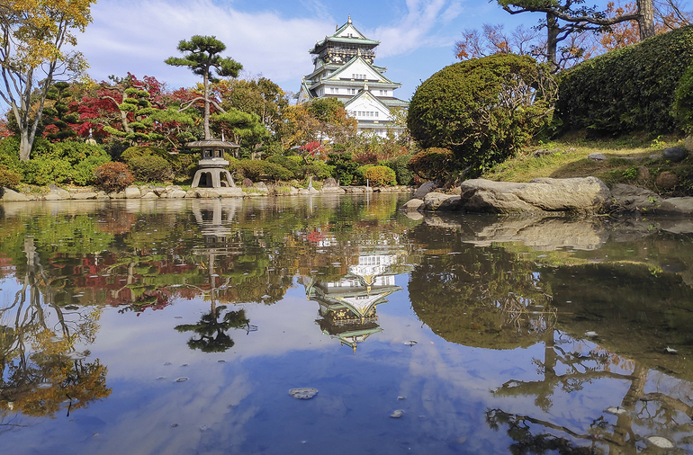 Osaka Castle Japan Jetstar return for free sale