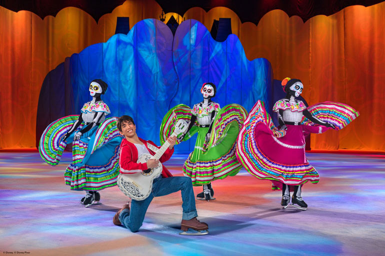 Coco in Disney on Ice presents Dare to Dream