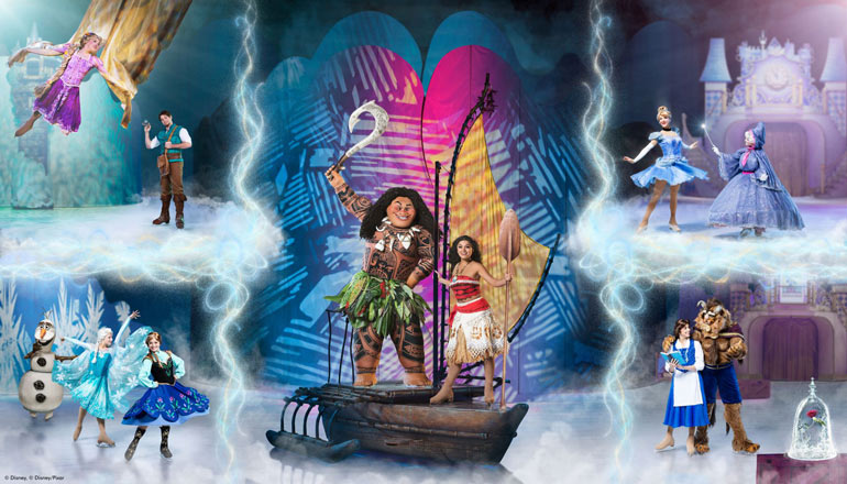 Disney on Ice presents Dare to Dream 2020 tour