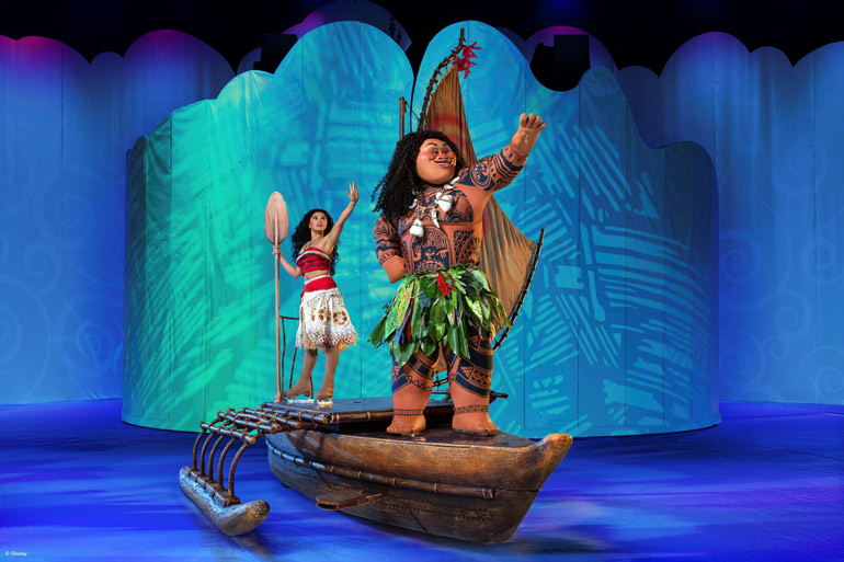 Moana from Disney on Ice 2020 show