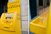 prosecco ATM in london opens