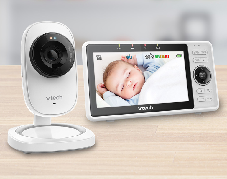 VTech video monitor in baby checklist