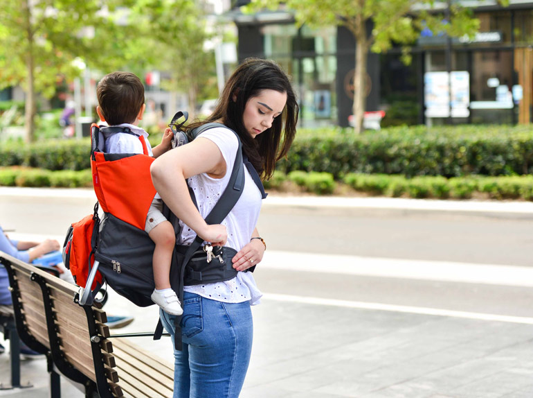 phil&teds baby backpack carrier