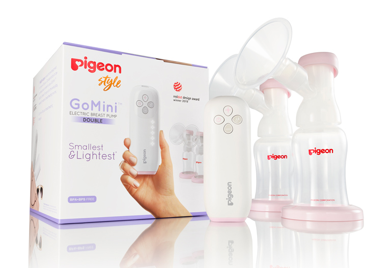 baby checklist - GoMini breast pump