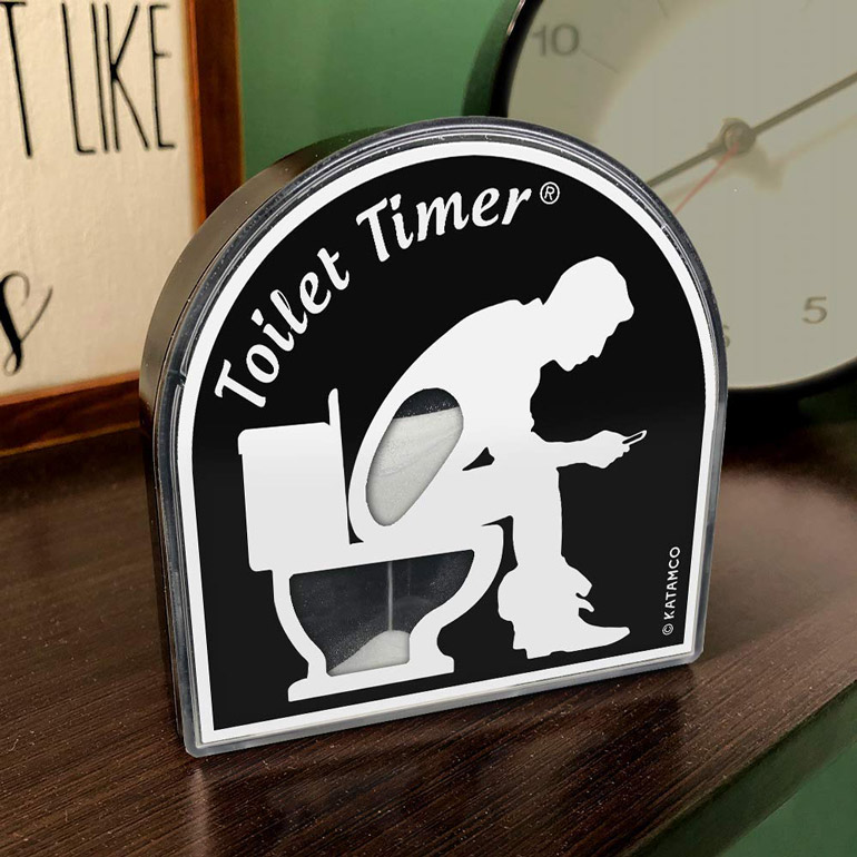 Limit his iPhone toilet time