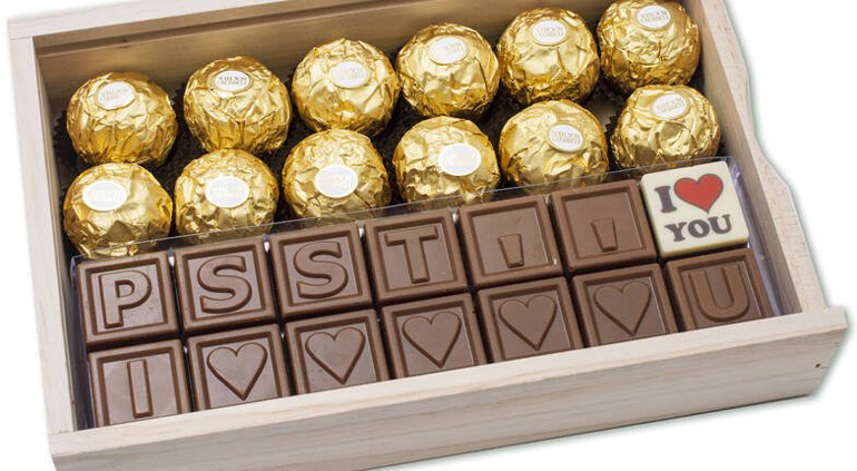 personalised chocolate fathers' day