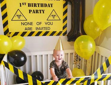 quarantine birthday party
