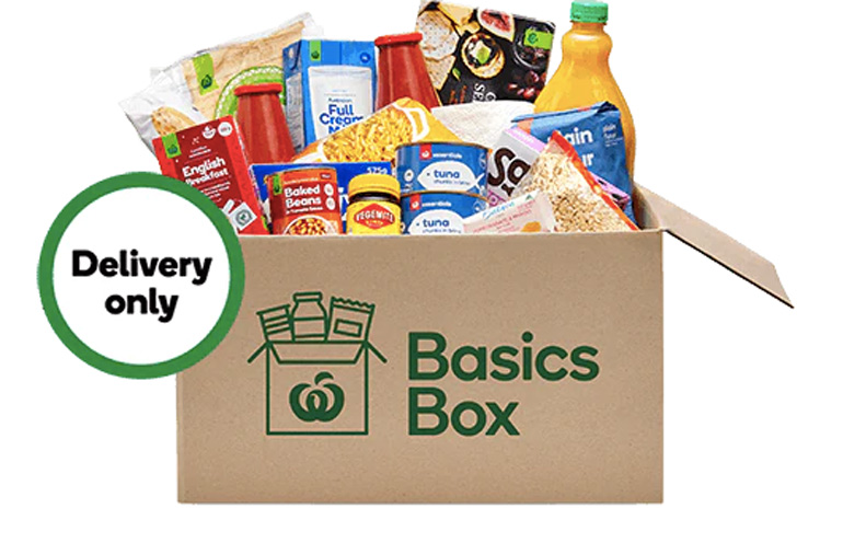 Woolworths basics box