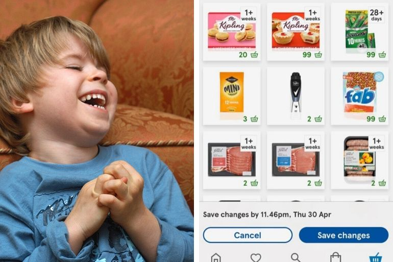 child snacks order