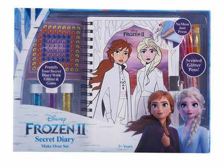 frozen 2 secret diary pulled off shelves