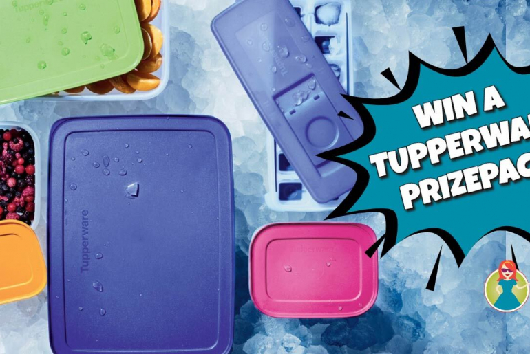 tupperware prize pack