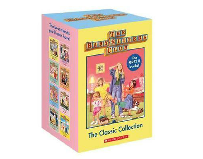 The Baby-sitters Club books and trailer
