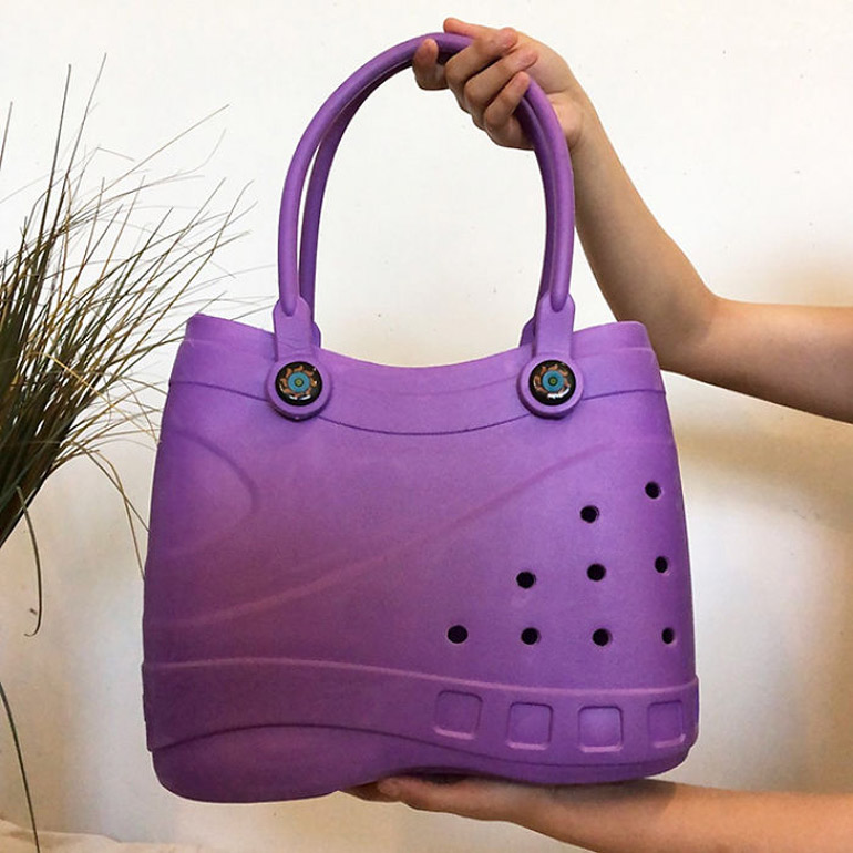 ugly croc bag is here