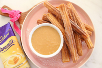 churros and caramilk recipe