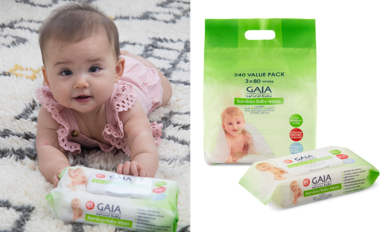 Baby Wipes - baby checklist 2020