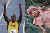 Usain Bolt daughter