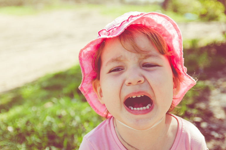 toddler tantrums likely to be rich