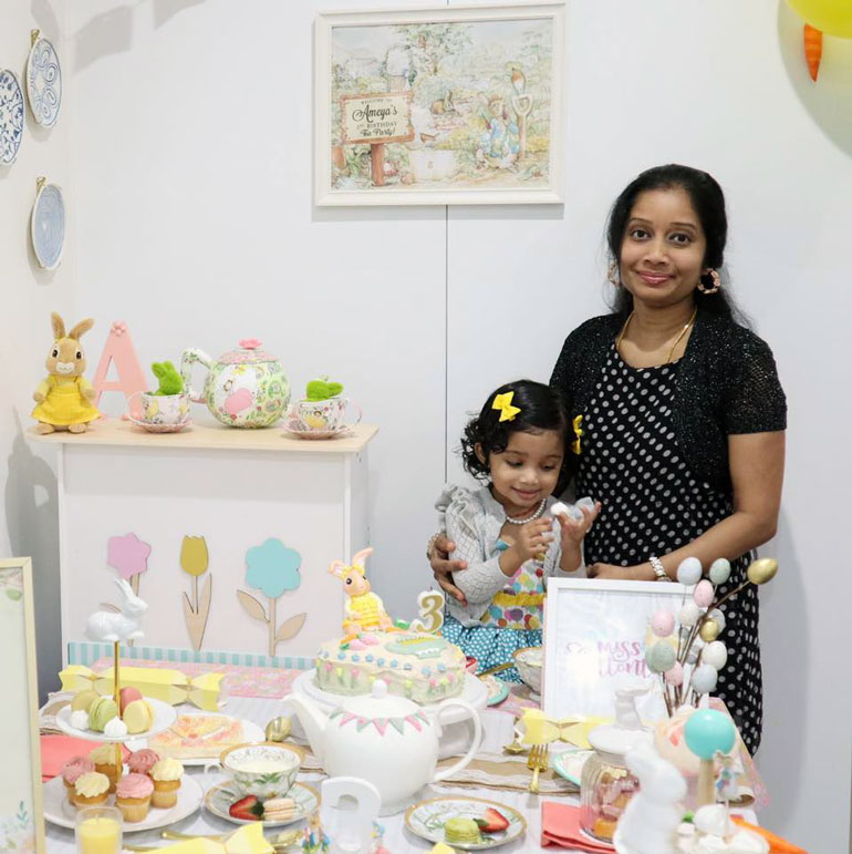 Priya and Ameya bunny birthday