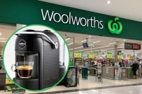 free coffee machine woolworths