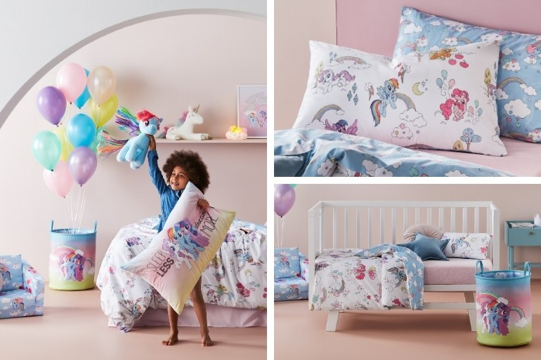 Adairs Kids My Little PONY BEDDING