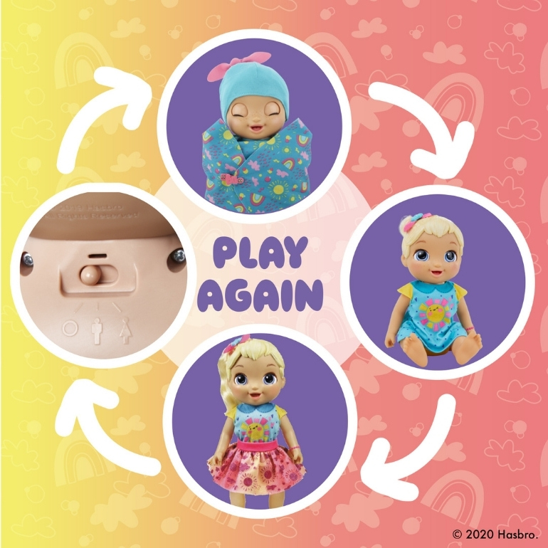 Baby Alive doll that grows