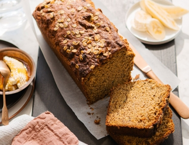 oat banana bread recipe