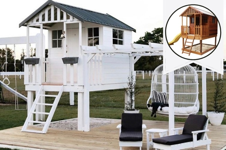 Bunnings Cubby House transformation