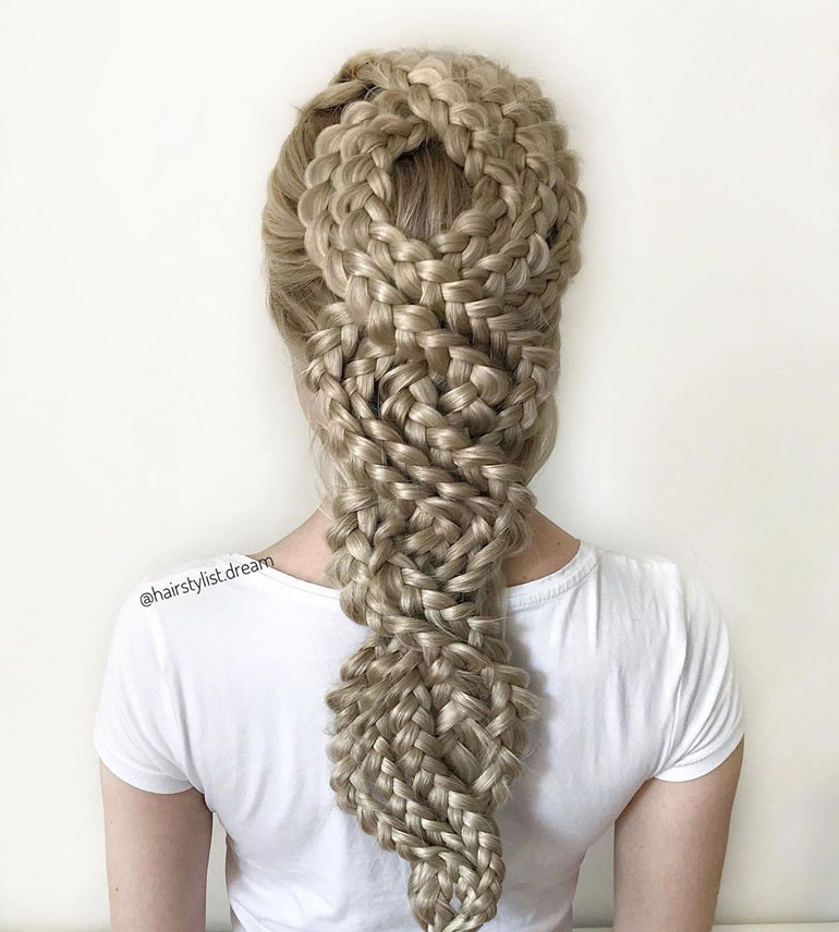 intricate hairstyles