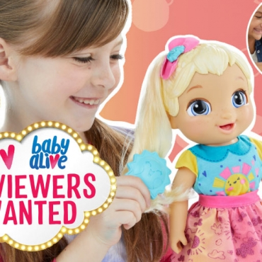 APPLY TO REVIEW: Baby Alive – The Doll That Grows from Newborn to Child
