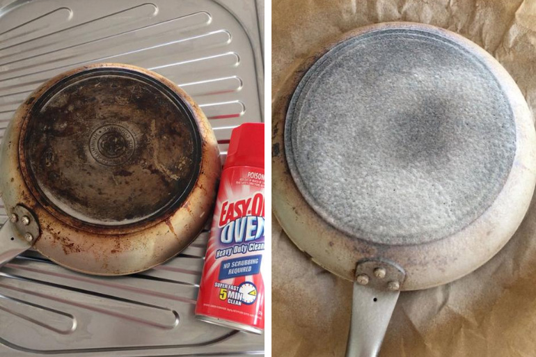 pan cleaning hack