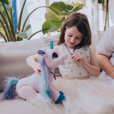 REVIEW: Discover Real Unicorn Magic with Blossom, My Bestiecorn from FurReal