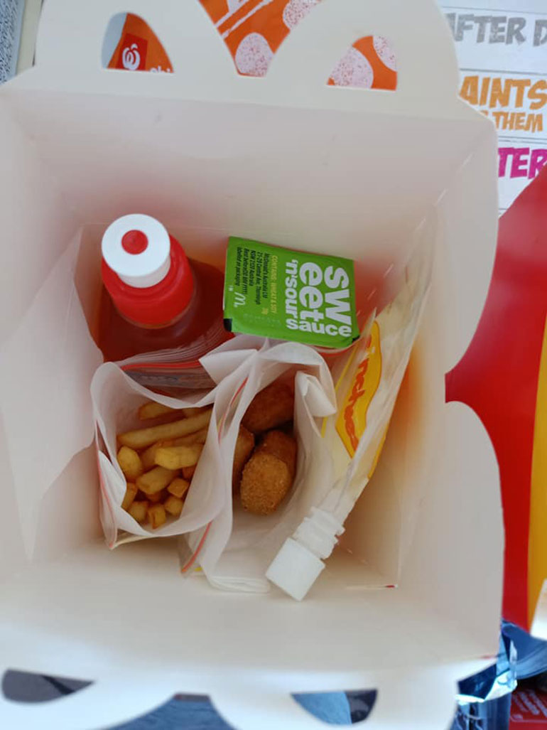 Happy Meal hack