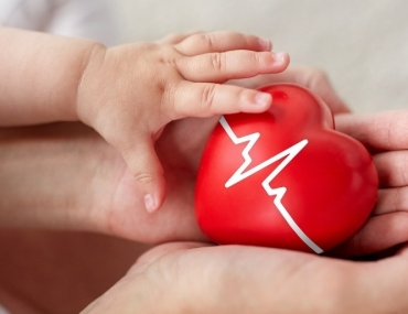 baby and mother heart awareness