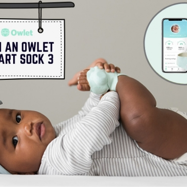 WIN: Owlet's New Smart Sock 3 Has a Suite of New Features