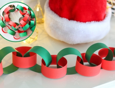 how to make paper chain