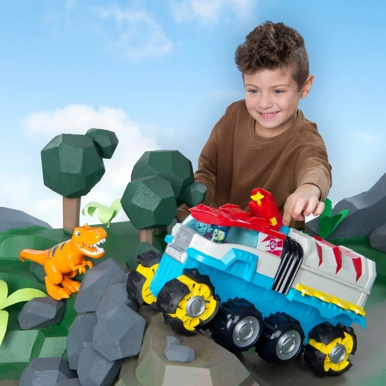 Paw Patrol dino Patroller new toy