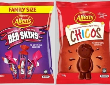 Allens lolly name change