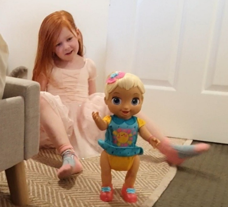 Baby Alive Baby Grows Up review