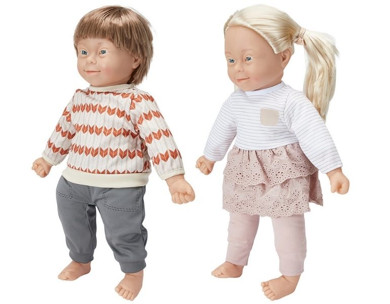 Kmart charlie down syndrome dolls