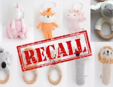 toy recall ACT and QLD