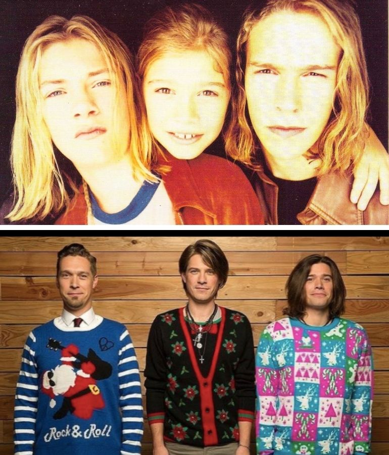 Hanson brothers then and now