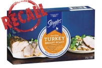 Steggles Frozen Turkey Breast Roast recalled