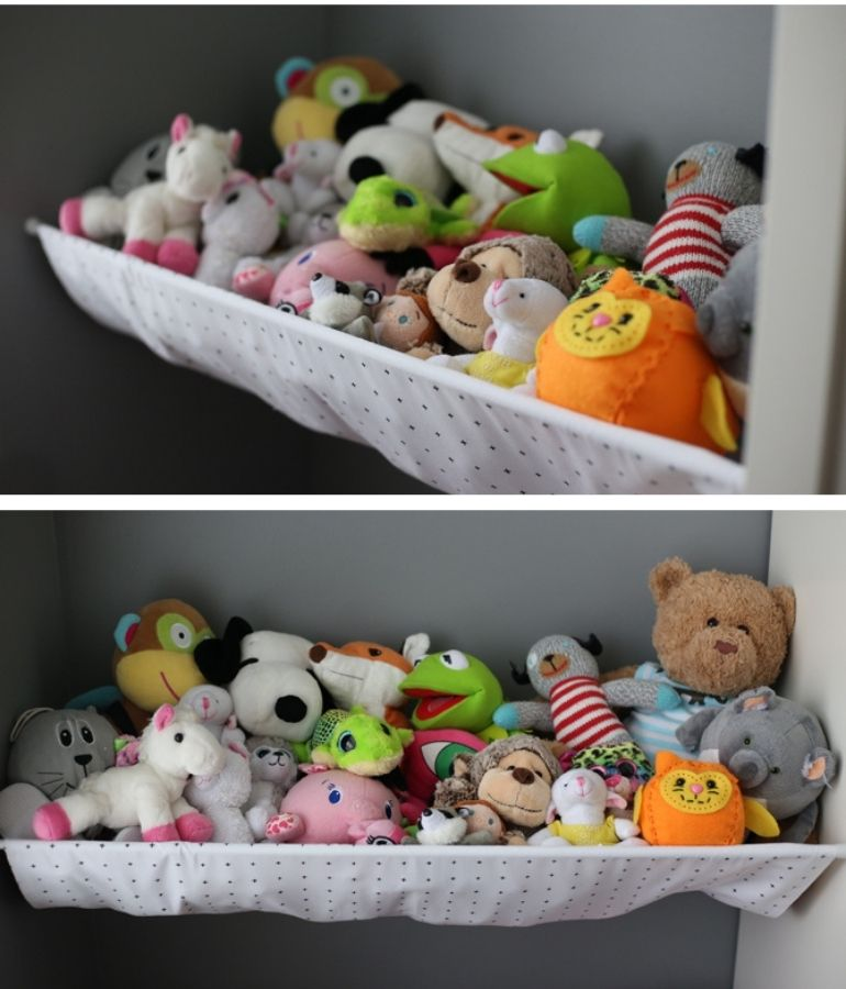plush toy storage solutions