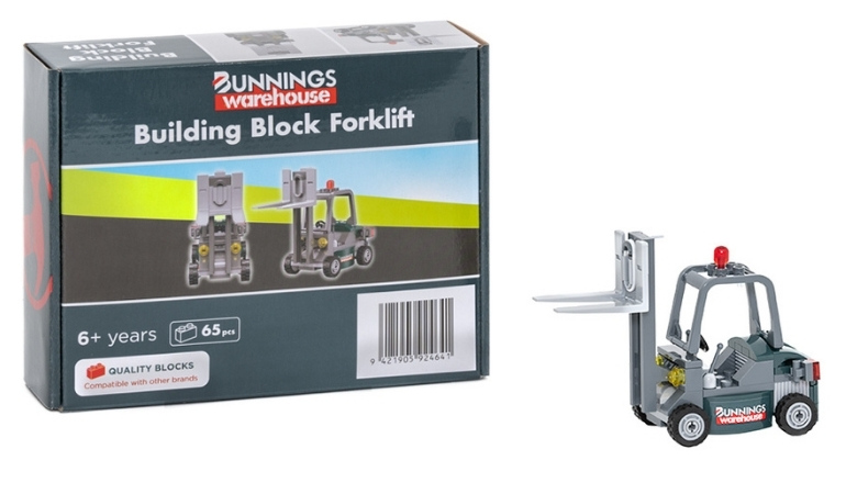 Bunnings forklift collectible