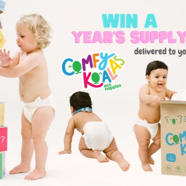 WIN a Year's Supply of Comfy Koalas Eco Nappies to Your Door!
