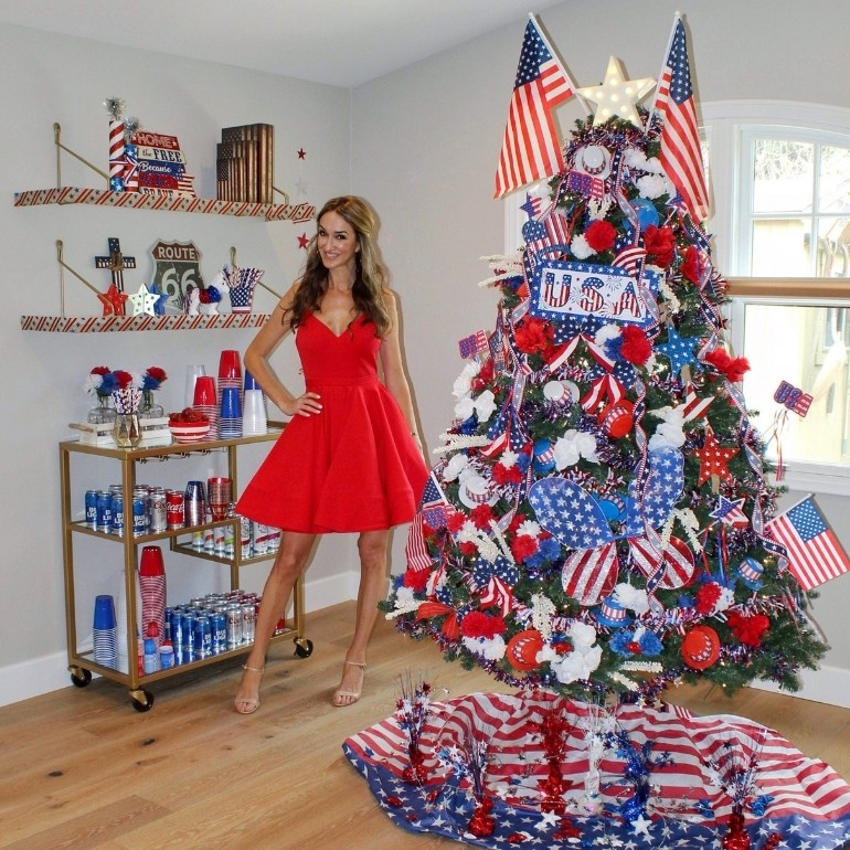 Fourth of July tree