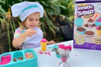 Kinetic Sand ice cream playset